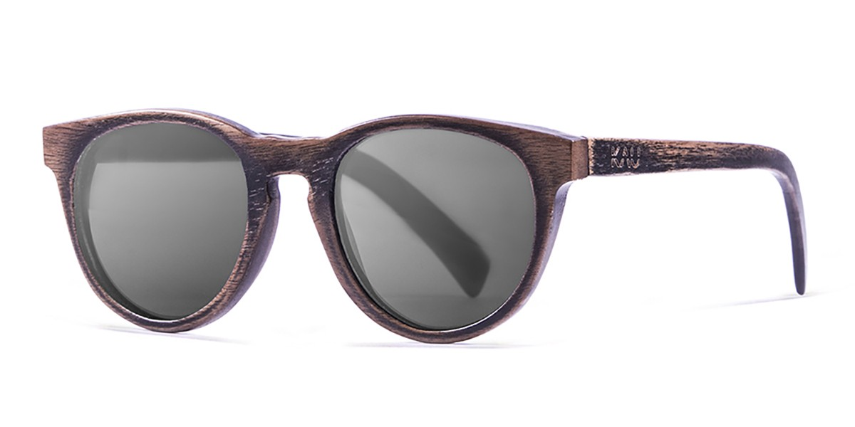 Berlin Brown polarized wooden sunglasses