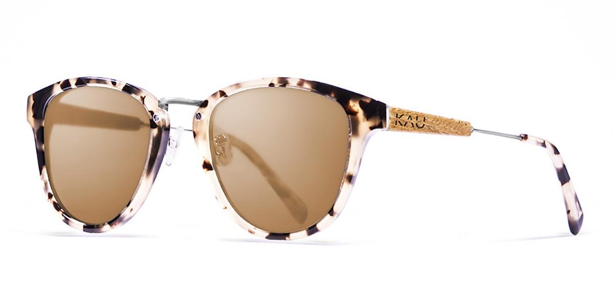 Venecia tortoise frame polarized sunglasses side