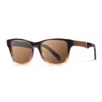 LONDON dark coffe with ELM burl  polarized  sunglasses Kauoptics side